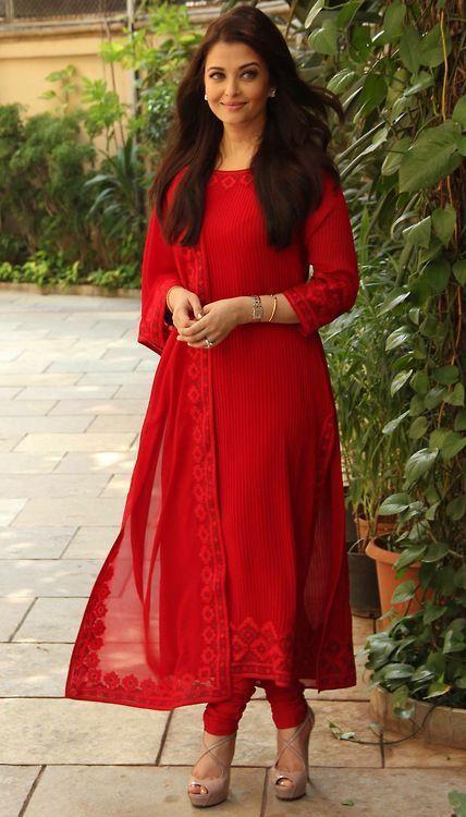 Red Salwar Kameez Designs
