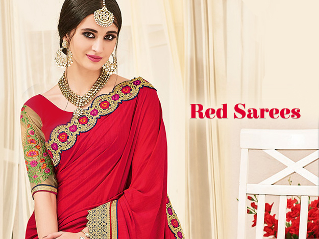 Ravishing Red Sarees: Very Indian Color & Truly Traditional Drap