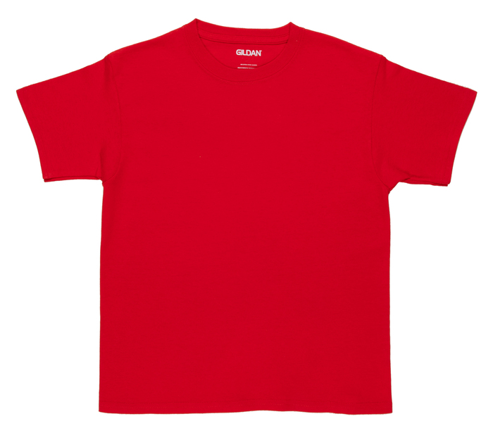 Red Youth T-Shirt - Small | Hobby Lobby | 6337