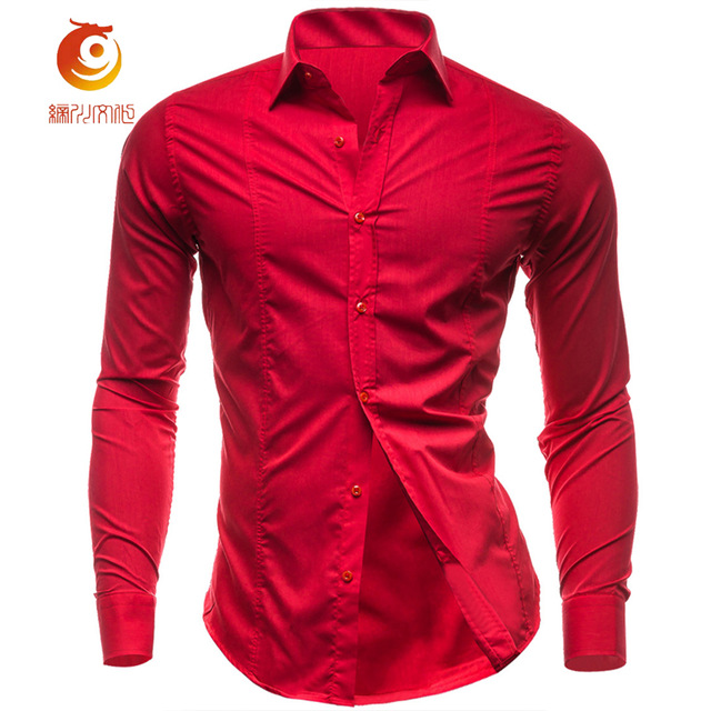 A red shirt stands for self-confidence and strength – ChoosMeinSty
