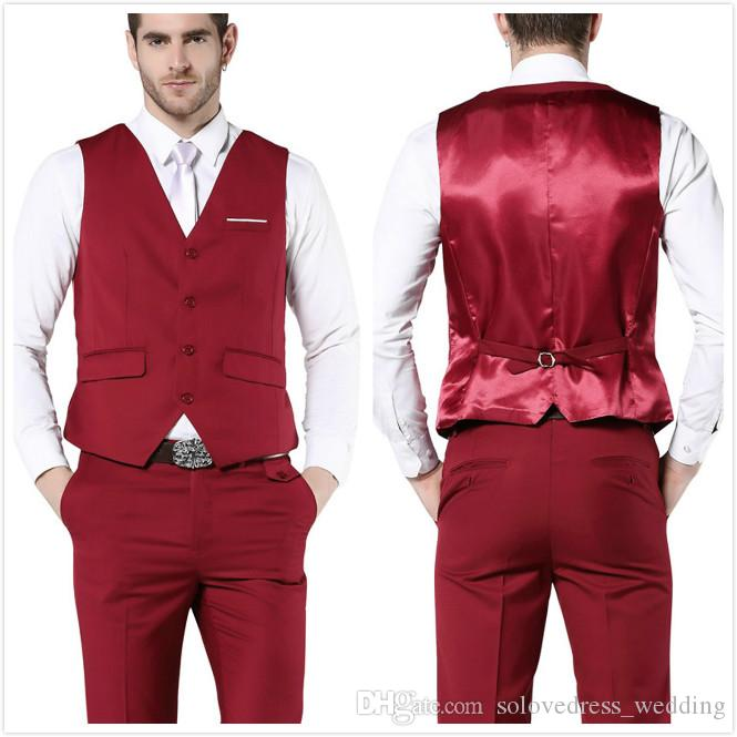 New Fashion Latest Mens Suit Vest Sleeveless Jacket Mens Suit Slim .