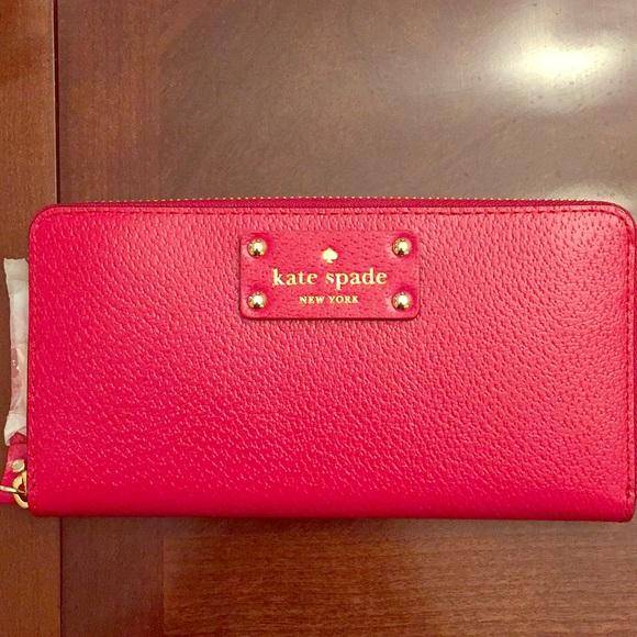 kate spade Bags | Red Wallet | Poshma