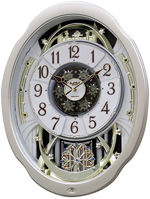 "Amazon.com: Rhythm Clocks ""Marvelous Magic Motion Clock: Home ."
