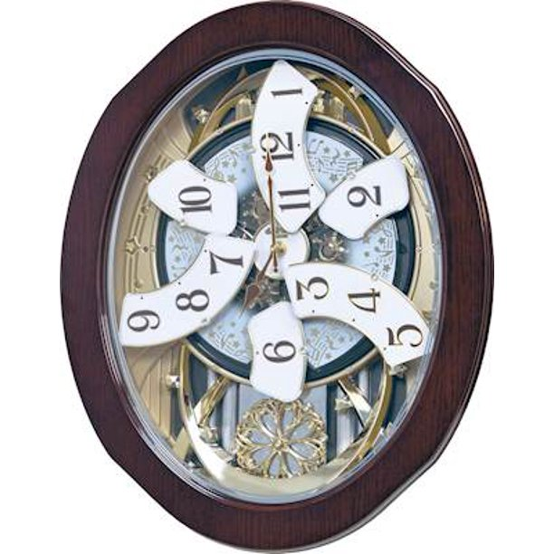 GRAND ANTHOLOGY Musical Motion Clock by Rhythm Clocks - Walmart .