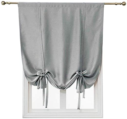 Amazon.com: HomeyHo Thermal Insulated Short Curtains Room .