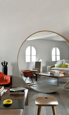 242 Best Round Mirrors images | Interior, Decor, Home dec