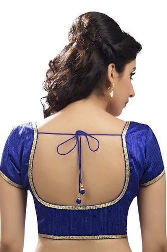 9 Stylish Round Neck Blouse Designs in 2020 | Dress neck designs .