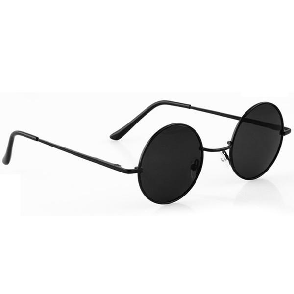 Unisex Retro Lens Round Sunglasses Retro Eyeglasses Glasses | Wi