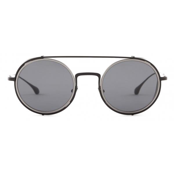 Giorgio Armani - Round Sunglasses - Black - Sunglasses - Giorgio .