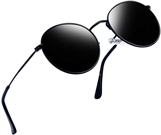 Amazon.com: Joopin Vintage Round Sunglasses for Women Retro Brand .