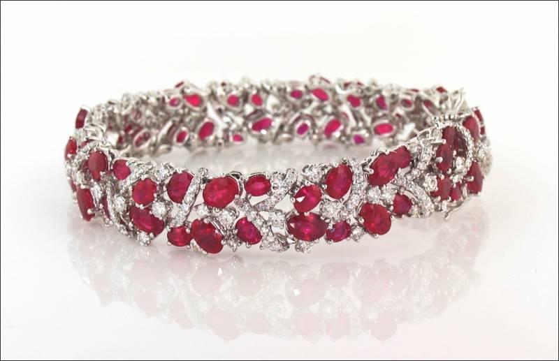 Ravishing Ruby Bracele