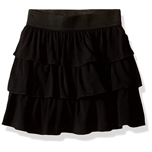 Black Ruffle Skirt: Amazon.c