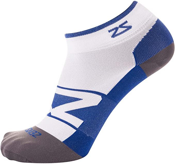 Amazon.com : Zensah Peek Ultra-Thin Lightweight Running Socks for .