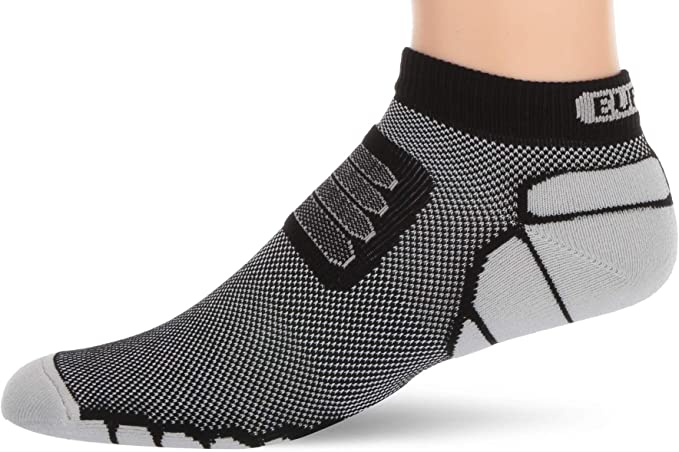 Amazon.com : Eurosock Marathon Low Cut Running Socks, Elastic Arch .
