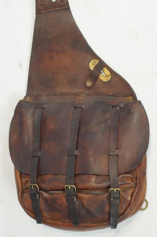 US Cavalry Saddle Bags.. - (western, wild wild west, artifacts .