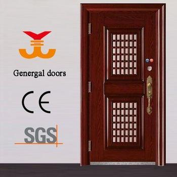 Steel Safety Door Design With Grill - Buy Safety Door Design With .