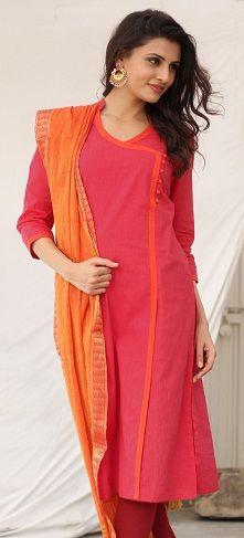 Cotton Salwar Kameez - These Designs Are Best For Everyday Attire .