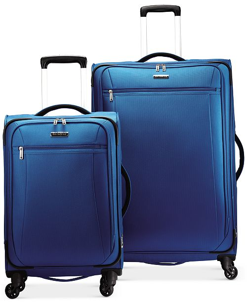 Samsonite CLOSEOUT! X-Tralight Softside Spinner Luggage Collection .