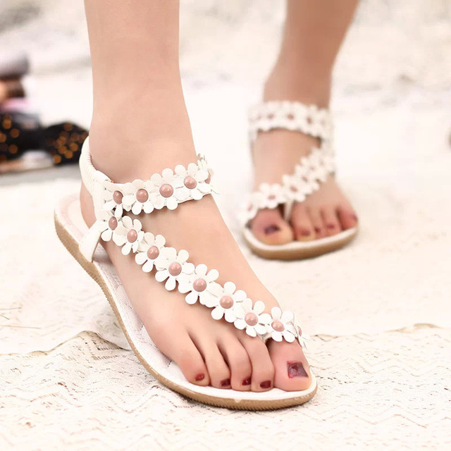 Shoes woman sandals comfort flower sandals women 2018 new arrivals .