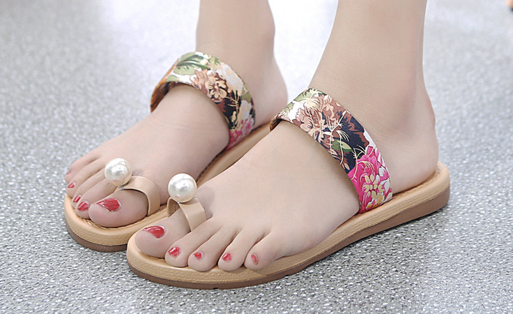 2017 Morden Flat Shoes Summer Casual Lady Fashion Woman Slipper .