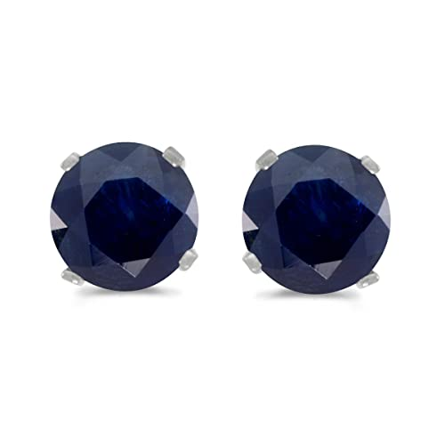 Sapphire Earrings: Amazon.c