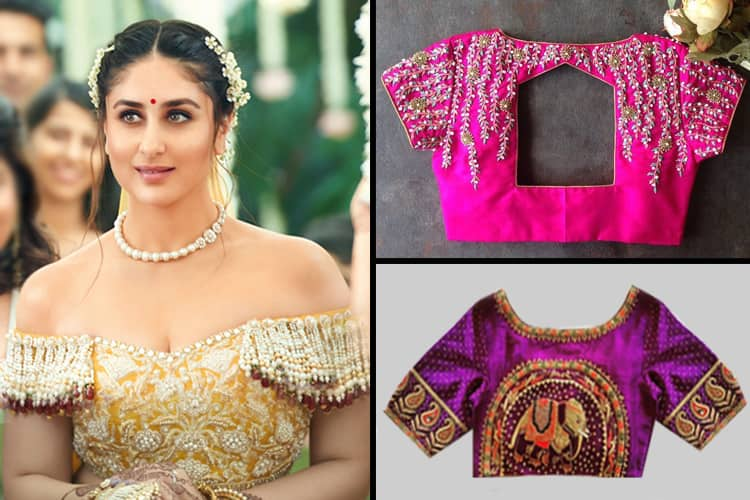 Impressive Blouse Designs To Flaunt This New Year 2020 | Indian .