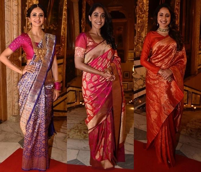 12 Beautiful Banarasi Saree Blouse Design • Keep Me Styli