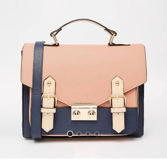 ASOS Bags | Color Blocked Satchel Bag | Poshma