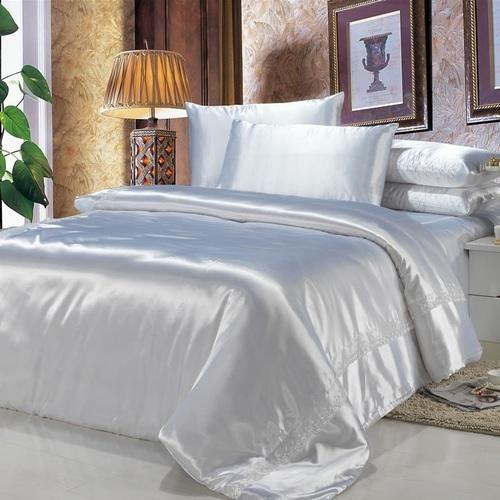 Satin Bed Sheets | Supplier of Silk Bed Sheet from Amritsar,Punjab .