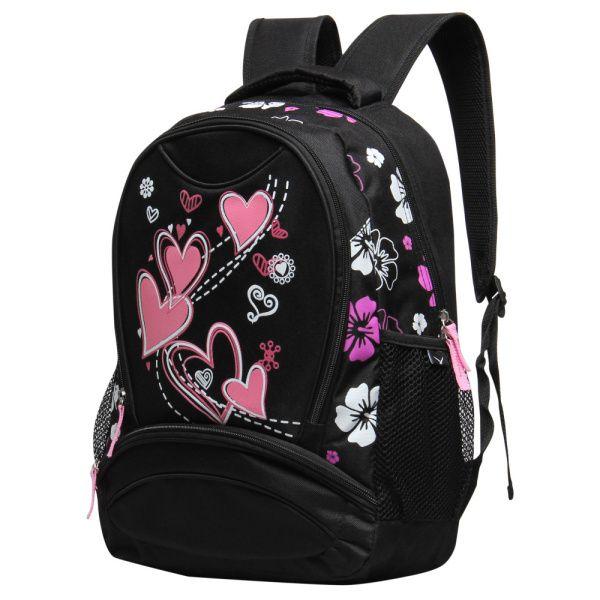Hearts Design Girl School Bag //Price: $28.30 & FREE Shipping .