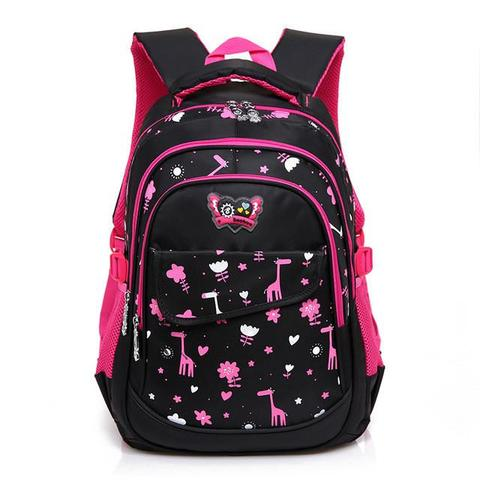 2017 new School Bags design for Girls and Boys Students Children .