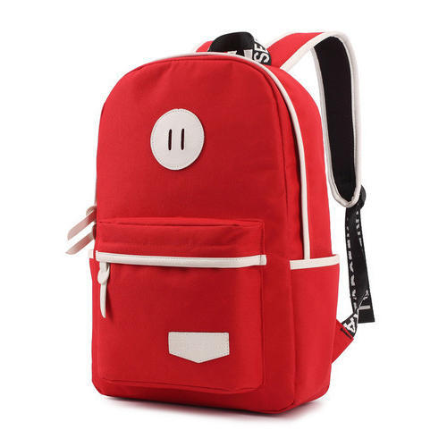 Canvas Red Designer School Bag, Rs 500 /piece Sanjana Bag Junction .