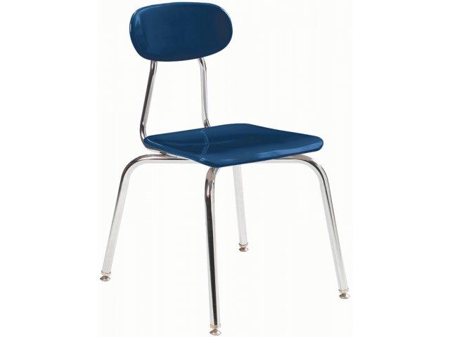 "Hard Plastic Stackable School Chair 13.75""H, Classroom Chai"