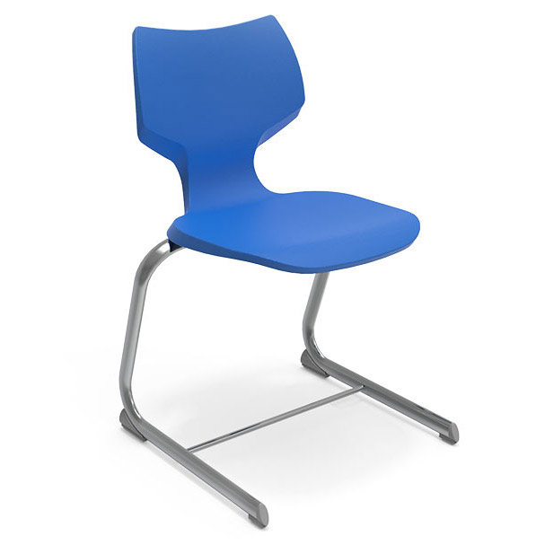 """Smith System Flavors Cantilever Sled Base Chair (18"""" H) - 11879 ."""