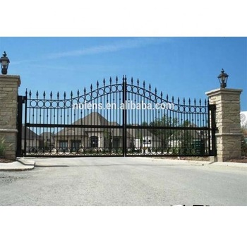 Design Of School Gate/low Price Sliding Iron Main Gate Designs .