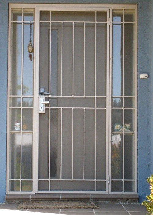 Aluminum Screen Door | Security screen door, Aluminum screen doors .