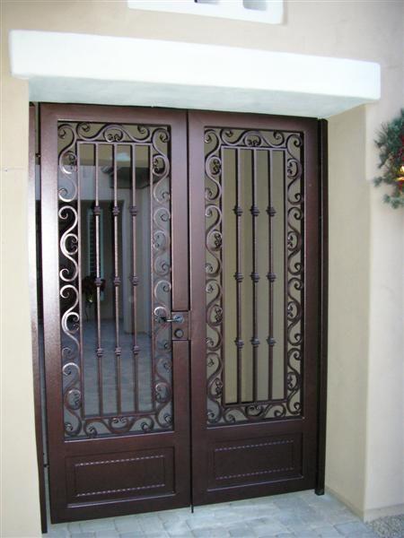 Double Security Gate 3003. (con imágenes) | Puertas de vidrio .