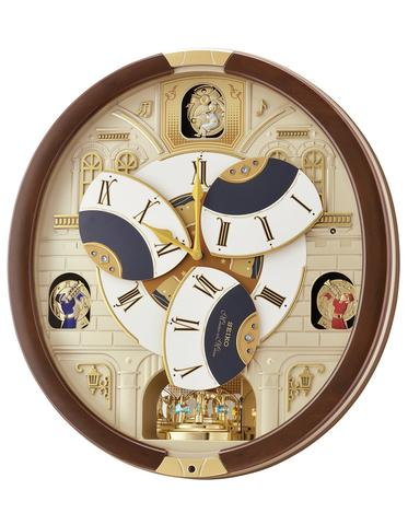 Seiko Grand Hotel Melodies in Motion Clock - Opening Dial - 18 .