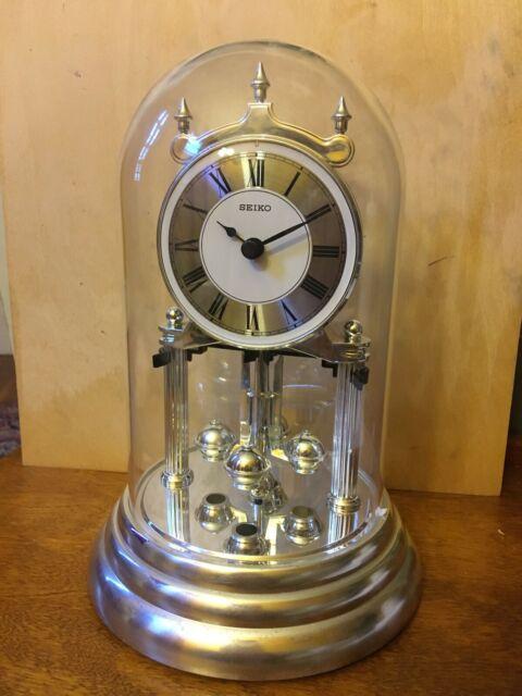 Seiko Clocks Anniversary Mantel Clock QHN006S for sale online | eB