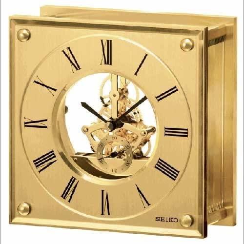 Amazon.com: Seiko Clocks Desk & Table clock #QHG036GLH: Home & Kitch