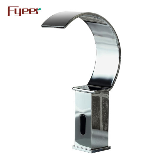 China Fyeer New Design Cold Only Waterfall Sensor Tap Automatic .
