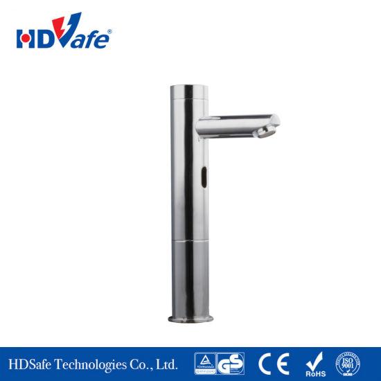 China Pillar Design Deck-Mounted Solid Brass Construction Infrared .