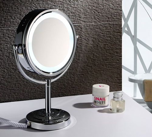 Magnifying Makeup Mirrors | Sanliv Bathroom Accessories for Hotel .