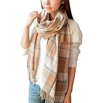Wander Agio Womens Scarves Warm Long Shawl Wraps Wool Large Scarf .