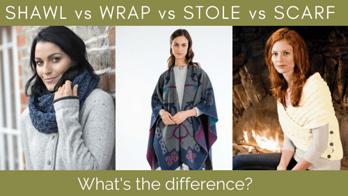 Shawl vs Wrap vs Stole vs Scarf...What's the difference? | Explore .