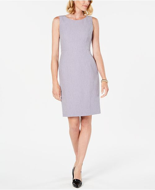 Kasper Petite Crepe Sheath Dress & Reviews - Wear to Work .