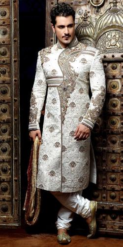 Mens Designer Sherwani at Rs 1200/piece(s) | Sherwani | ID .