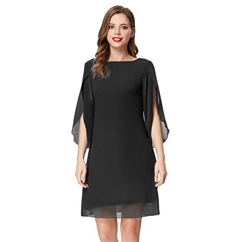 Black Shift Evening Dress: Amazon.c