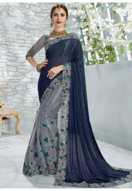 Shimmer Saree: Stylish Indian Shimmer Sarees Online Shopping U