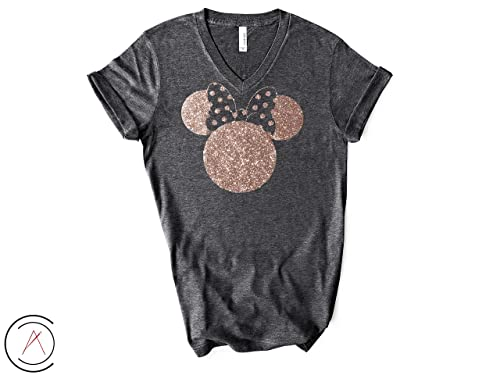 Amazon.com: Disney Shirts for Women, Minnie Mouse Rose Gold .